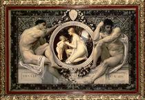 Idylle, 1884 by Gustav Klimt