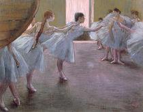 Dancers at Rehearsal, , 1875-1877 von Edgar Degas