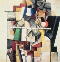 M. Matuischin by Kazimir Severinovich Malevich