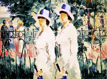 The Sisters by Kazimir Severinovich Malevich