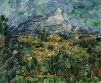 Mont Sainte-Victoire, 1904-05 von Paul Cezanne