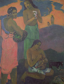 Maternity, or Three Women on the Seashore by Paul Gauguin