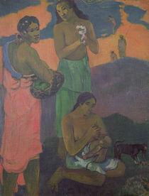 Maternity, or Three Women on the Seashore von Paul Gauguin