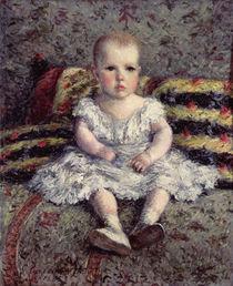 Child on a sofa, 1885