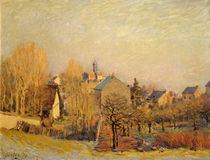 Frosty Morning in Louveciennes von Alfred Sisley