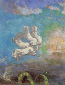 The Chariot of Apollo, c.1905-14 by Odilon Redon