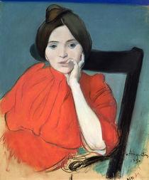 Portrait of a Woman, 1890 von Louis Anquetin