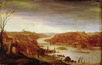 View of Prague by Dirck Verhaert
