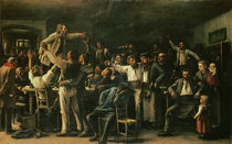 Strike, 1895 by Mihaly Munkacsy