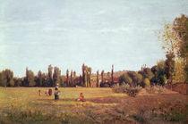 La Varenne de St. Hilaire, 1863 by Camille Pissarro