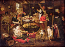 Kitchen Interior von Pieter the Elder Bruegel
