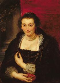 Portrait of Isabella Brant von Peter Paul Rubens