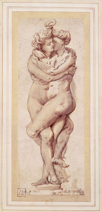 Embracing Couple by Peter Paul Rubens