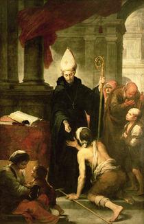 St. Thomas of Villanueva Distributing Alms by Bartolome Esteban Murillo