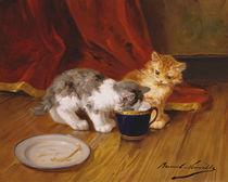 Tea-time by Alphonse Marie de Neuville