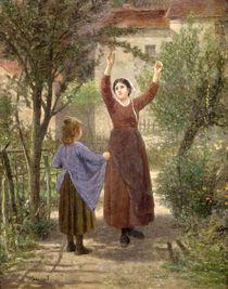 Picking Cherries by Paul Seignac