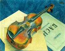 Still Life with a Violin, 1921 by Kuzma Sergeevich Petrov-Vodkin
