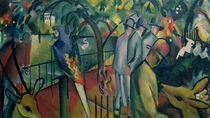 Zoological Garden I, 1912 von August Macke