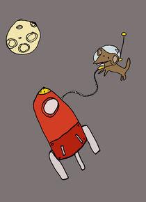 La petite chienne de l'espace von Marine d.