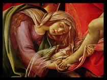 The Lamentation of Christ, detail of Mary Magdalene and the Feet of Christ, c.1490 von Sandro Botticelli