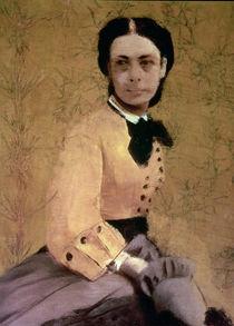 Portrait of Princess Pauline de Metternich von Edgar Degas