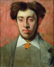 Portrait of Albert Melida von Edgar Degas