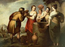 Rebecca and Eliezer at the Well by Bartolome Esteban Murillo