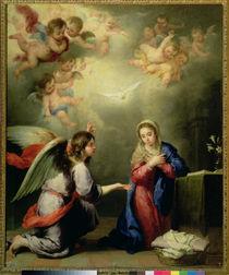The Annunciation, 17th century by Bartolome Esteban Murillo