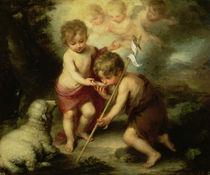 The Boys with the Shell, c.1670 by Bartolome Esteban Murillo