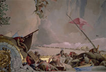 America, detail from The Glory of Spain II by Giovanni Battista Tiepolo