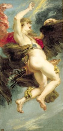 The Rape of Ganymede, c.1636-38 by Peter Paul Rubens