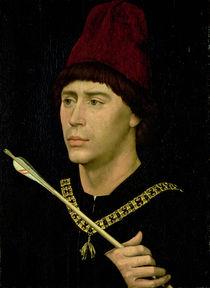 Portrait of Antoine bastard of Burgundy von Rogier van der Weyden