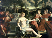 Susanna and the Elders, 1567 by Jan Massys or Metsys