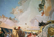 The Glory of Spain III, from the Ceiling of the Throne Room by Giovanni Battista Tiepolo