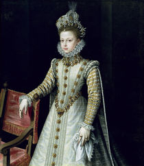 The Infanta Isabel Clara Eugenie 1579 by Alonso Sanchez Coello