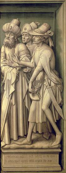 Three Pharisees with Caesar's Coin von Rogier van der Weyden