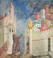 The Expulsion of the Devils from Arezzo by Giotto di Bondone