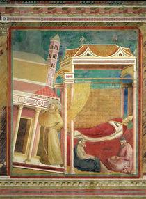 The Dream of Innocent III, 1297-99 by Giotto di Bondone