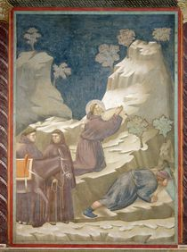 The Miracle of the Spring, 1297-99 by Giotto di Bondone