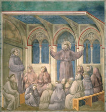 The Apparition at the Chapter House at Arles by Giotto di Bondone