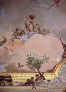 The Glory of Spain IV, from the Ceiling of the Throne Room by Giovanni Battista Tiepolo