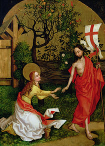 Altarpiece of the Dominicans: Noli Me Tangere by Martin Schongauer