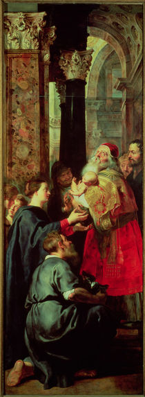 Presentation in the Temple by Peter Paul Rubens