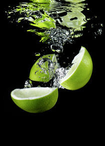 Lime Splash von peter backens