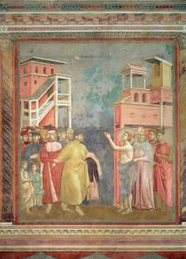 St. Francis Renounces his Father's Goods and Earthly Wealth von Giotto di Bondone