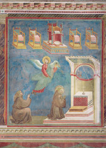 The Vision of the Thrones, 1297-99 by Giotto di Bondone