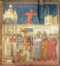 St. Francis of Assisi Preparing the Christmas Crib at Grecchio von Giotto di Bondone