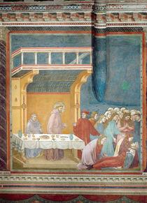 The Death of the Knight of Celano by Giotto di Bondone
