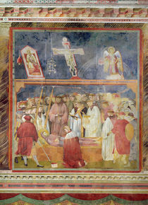 St. Jerome Checking the Stigmata on the Body of St. Francis by Giotto di Bondone