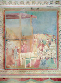 Pope Gregory IX Canonising St. Francis in 1228 by Giotto di Bondone